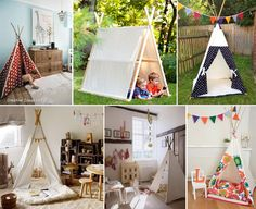 Diy tent .. and give your kids a little adventurous spirit .
