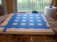 checkerboard table 004