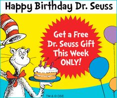 Dr. Seuss Book Club - great deal on books if you are starting or want to add to your collection. Sign up for as many months as you want.