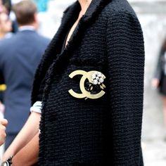 Black Chanel Blazer