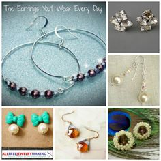 The Earrings Youll Wear Every Day: 10 DIY Earring Designs