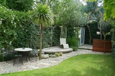 minimalismo: jardin minimalista