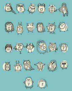 owlphabet !