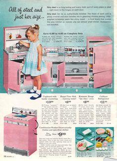 1962 Sears Christmas - Toy Interior