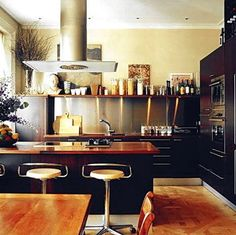 kitchen from Domino Magazine