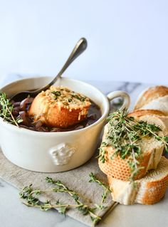 Single Lady French Onion Soup