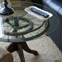 DIY Wheelchair Wheel Table