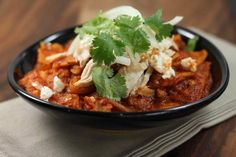 Chipotle Chilaquiles (via rick bayless)
