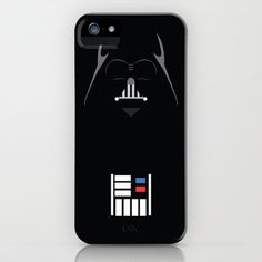 WANT -Star Wars - Darth Vader Minimalist iPhone & iPod Case by TracingHorses - $35.00