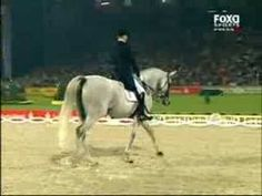 This is a must watch ~ unbelievable what this horse can do - 'Blue Hors Matine'.