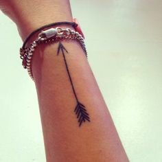 Arrow Tattoo, exactly what I want!
