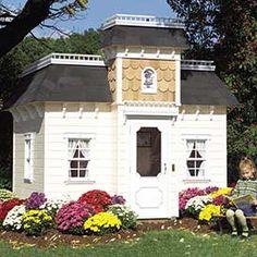 Mary Hannon's Pick: Victorian Mansion Playhouse Posh Living