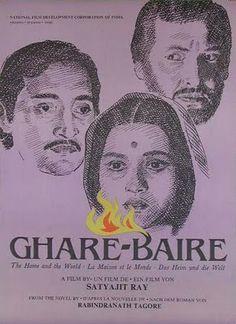 El mundo de Bimala [Ghare-Baire]. India, 1984. Dir. Satyajit Ray. Int.: Soumitra Chatterjee, Victor Banerjee, Swatilekha Chatterjee, Manoj Mitra, Indrapramit Roy.