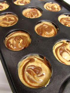 pumpkin nutella mini cheesecake bites