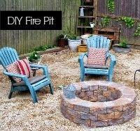 Building a Fire Pit...