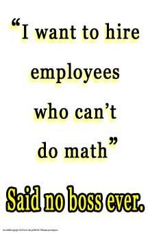 #316 Motivational Math Poster Motivates Students to Care About Math #math #humor