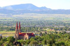 The Sleeping Giant. Helena, Montana