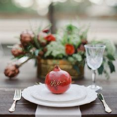 rustic-woodsy-winter-kinfolk-dinner-engagement-party-ruffled-pomegranites-antlers-pumpkins-melanie-gabrielle-photography-12