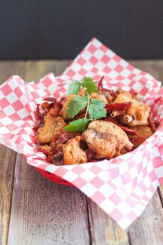 Szechuan Chicken Wings with Explosive Chile