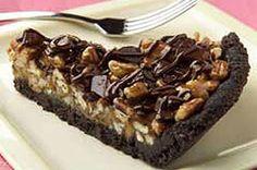 Choco and Carmel!! Chocolate Chunk-Caramel Pie recipe   #kraftrecipes
