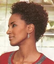 styling ideas for short natural hair - Google Search