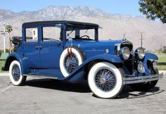 1929 LaSalle 328 Landau Cabriolet Cadillac 328cid, 86hp, V8 engine w/3speed Synchro-Mesh transmission