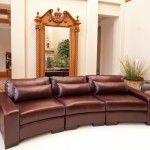 Elements Fine Home Furnishings - Loft Top Grain Leather Sectional - EQL1054  SPECIAL PRICE: $2,279.99