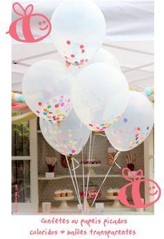 Baloes de gas para festa infantil