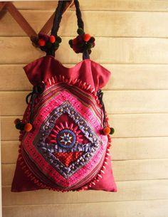 ✪☯☮ॐ American Hippie Bohemian Style ~ Boho Tribal Bag!