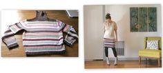 knit sweaters, stripe sweater, sweater skirt