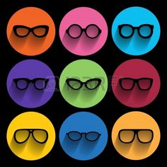 #Glasses and #colors