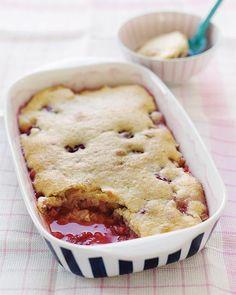 Berry & Rhubarb Farmhouse Spring Pudding Recipe via Sweet Paul # ...
