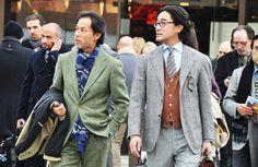 Well dressed men