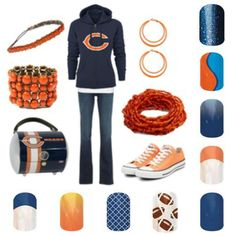 ARE YOU READY FOR SOME FOOTBALL Love all the looks you get with Jamberry Nails www.StylishTenNails.jamberrynails.net