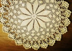 My first doily!
