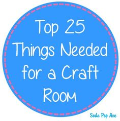 This is a great list of the best things to get to begin crafting, complete with pictures and links to each item.  www.SodaPopAve.com