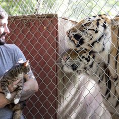 BUB meets, befriends, and even SCARES TIGERS.You've seen the photos, but what you really want to see is the video:http://bit.ly/BUBME...