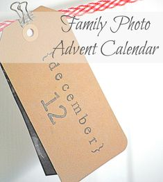 Simple Christmas Photo Advent Calendar | Making Lemonade