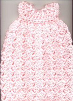 Newborn Burial Gown free crochet pattern