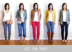 Lace Tank Remix