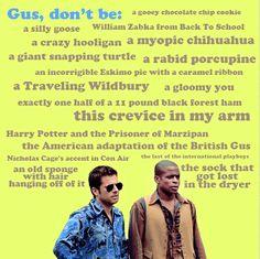 I love Gus.