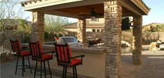 Desert backyard