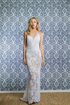 Dare To Be Distinctive, Bold, and Beautiful in the Gisele Wedding Dress by Grace Loves Lace