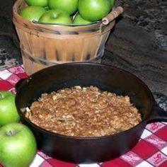 Maple Apple Crisp  #