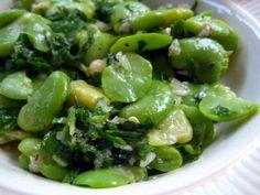 Simple Fava Bean Salad