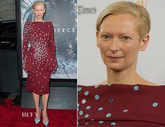 Tilda Swinton In Schiaparelli Couture – 'Snowpiercer' LA Premiere