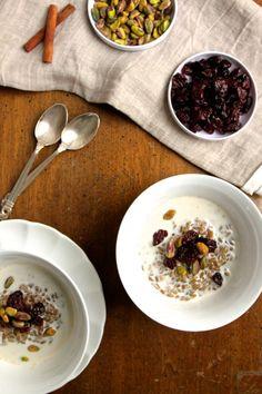 Freekeh Breakfast Bowl   TheCornerKitchenBlog.com #recipe #freekeh
