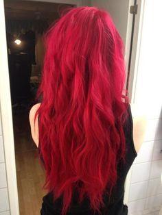 Hair hair colors, red hair, long red, rock, hair style, beauti, hairstyl, hair looks, curly hair
