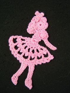 Crochet Graph pattern princess motif