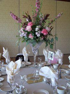 votive candle wedding centerpieces